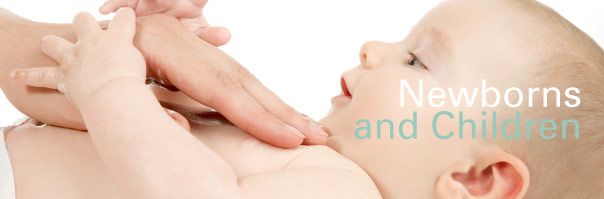 Chiropractic care for newborns and infants