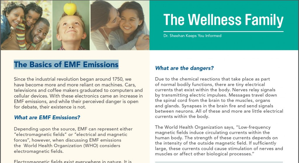 The Basics of EMF Emissions